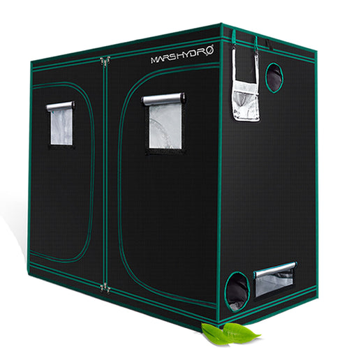 240x120x200cm Indoor Grow Tent Kit Dark Room Hydroponic 1680D Mylar Non Toxic Box