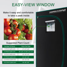 Load image into Gallery viewer, 120x60x180cm Indoor Grow Tent Kit Dark Room Hydroponic 1680D Mylar Non Toxic Box