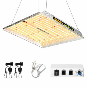 Mars Hydro TS 1000W Led Grow Light+70x70x160cm Indoor Tent Full Kits Carbon Filter Fan