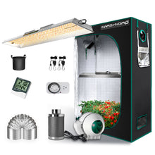 Load image into Gallery viewer, Mars Hydro TSL 2000W Led Grow Light+120x60x180cm  Indoor Tent Hydroponics Completed Grow Kits Carbon Filter