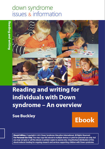 Reading and Writing for Individuals with Down Syndrome - An Overview - PDF Ebook