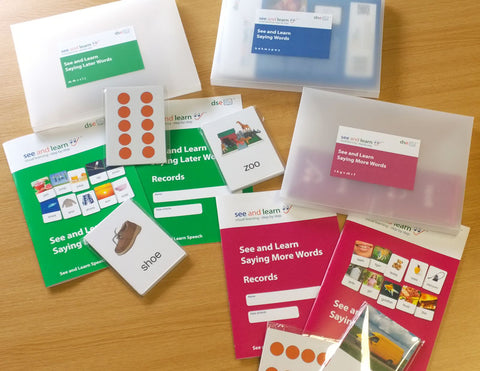 See and Learn Speech, Language and Reading Bundle