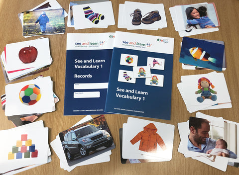 See and Learn Vocabulary 1 Kit