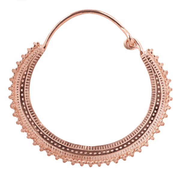 Maya Jewelry Afg_RG Rose Gold Professional Body Jewlery