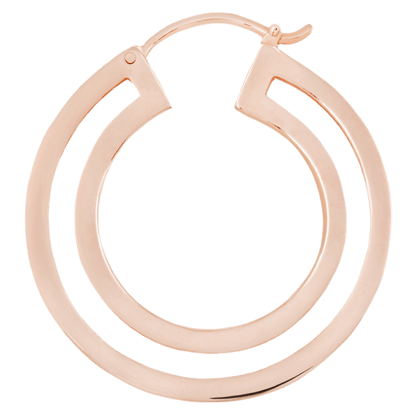 Maya Jewelry DoublD_RG  Rose Gold Professional Body Jewlery