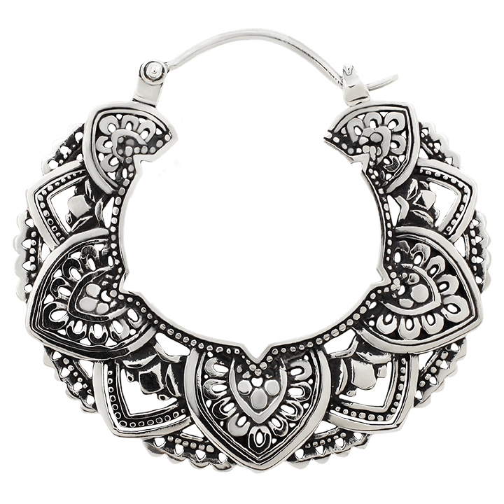 Maya Jewelry Empr_WB  White Brass Professional Body Jewlery