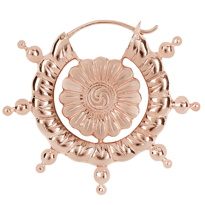 Maya Jewelry Hann_RG  Rose Gold Professional Body Jewlery