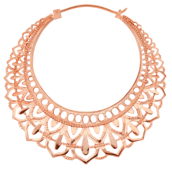 Maya Jewelry Man_RG  Rose Gold Professional Body Jewlery