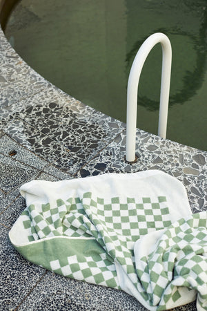 Baina - Roman Organic Cotton Pool Towel