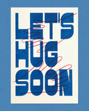 Let's Hug Soon Postcard Set