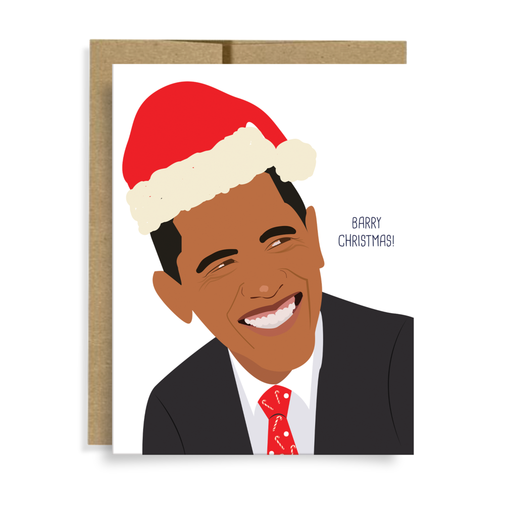 Barry Christmas Card