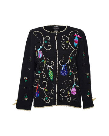 Vintage Embroidered Cardigan