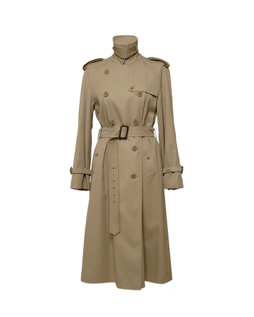 Vintage Safari Trench