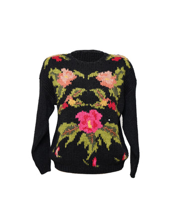 Vintage Flowers Sweater