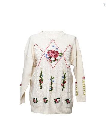 Vintage Rose Sweater