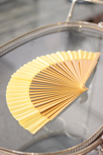 Vintage Yellow Fan