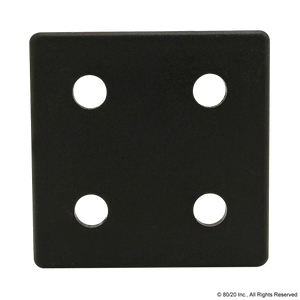 2028-Plain End Cap for PN 2020 w/ Push-In Fastener