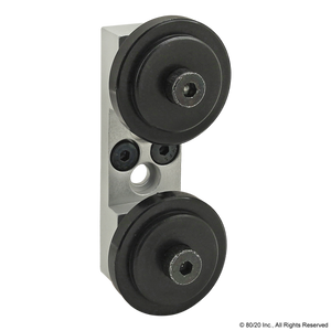 2751 10 Series Dual Roller Wheel Bracket Assembly