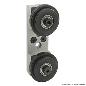 2755 15 Series Dual Roller Wheel Bracket Assembly