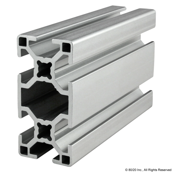 30-3060 30mm X 60mm T-Slotted Profile - Six Open T-Slots