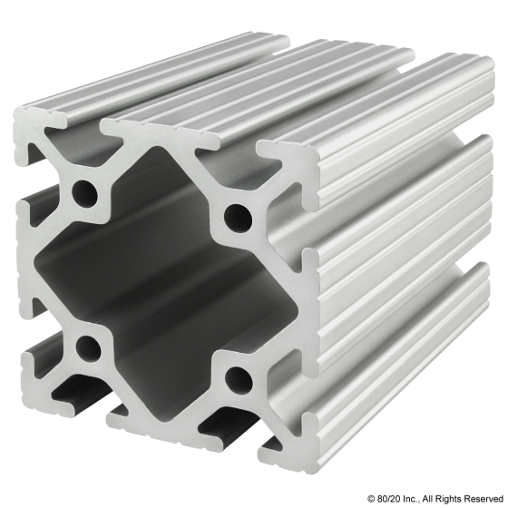 "3030 3"" X 3"" T-Slotted Extrusion"
