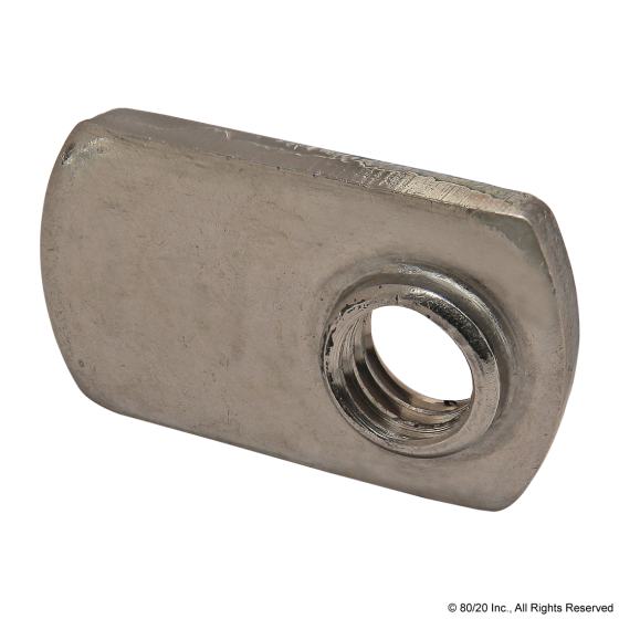 3678 5/16-18 Slide-in Economy SS T-Nut - Offset Thread