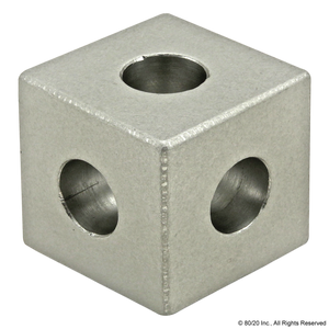 4042 10 Series 3 Way - Squared Corner Connector