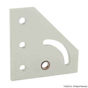 4137 10 Series 90 Degree Right Hand Pivot Bracket Plate