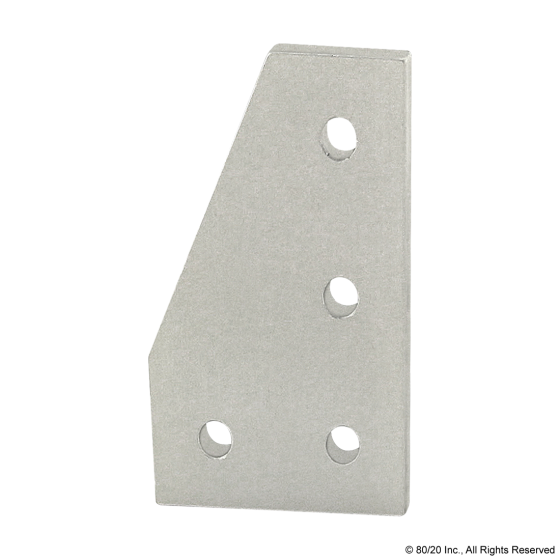 4150 10 Series 4 Hole - 90 Degree Angled Flat Plate