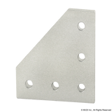 4151 10 Series 5 Hole - 90 Degree Angled Flat Plate