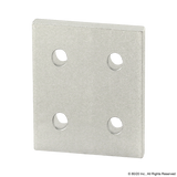 4167 - 10 Series 4 Hole - Square Flat Plate