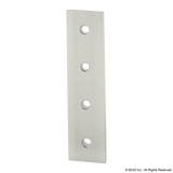 4305 15 Series & Ready Tube 4 Hole - Straight Flat Plate
