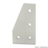 4350 15 Series 4 Hole - 90 Degree Angled Flat Plate