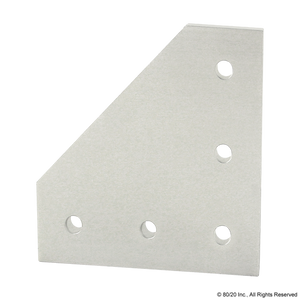 4351 15 Series 5 Hole - 90 Degree Angled Flat Plate