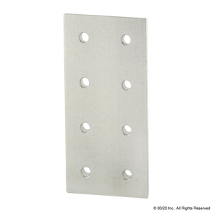 4365 15 Series 8 Hole - Rectangular Flat Plate