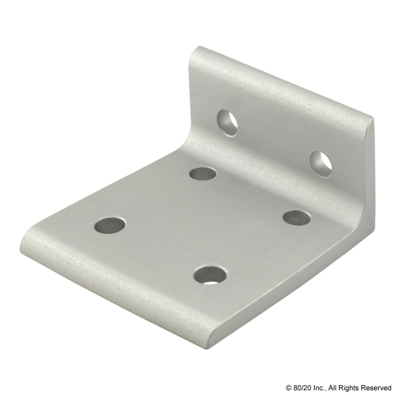 4375 15 Series 6 Hole - Wide 2x4 Inside Corner Bracket