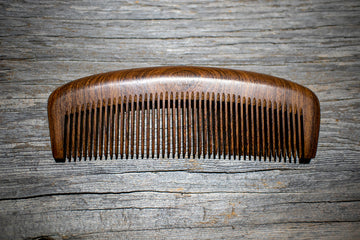 Why Use a Wood Beard Comb?