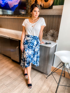 Athena Wrap Skirt