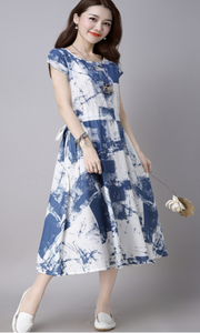 Women summer dress casual - Style Art Villa