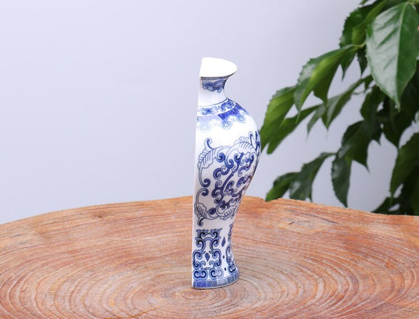 Traditional Chinese Porcelain Wall Hanging Vase - Free shipping (17-27 days)