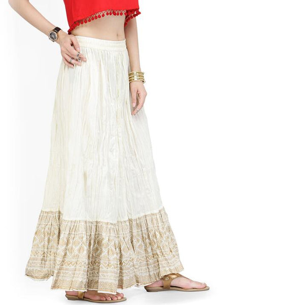 Ethnic Indian Cotton Skirt - Free shipping