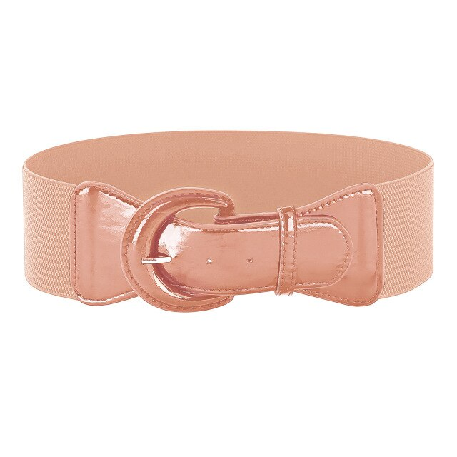 Wide Polyurethane Leather belts - Free shipping