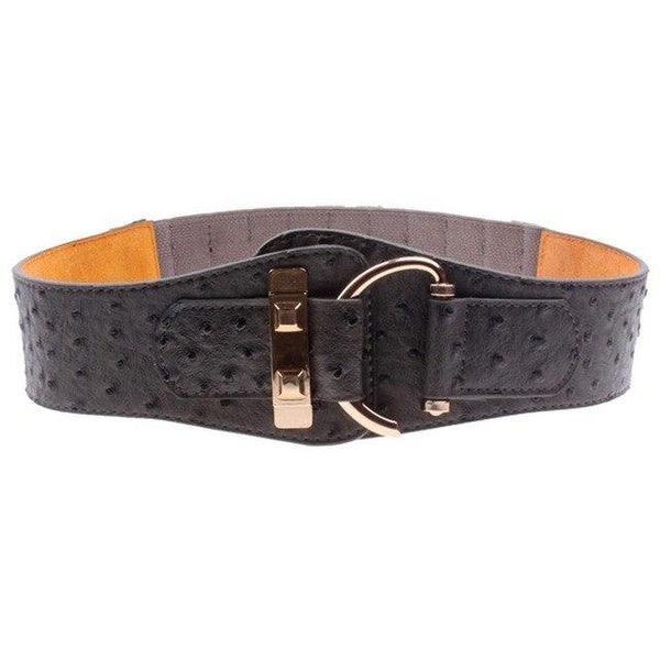 AKTRIS Fashion Wide Leather Elastic belt