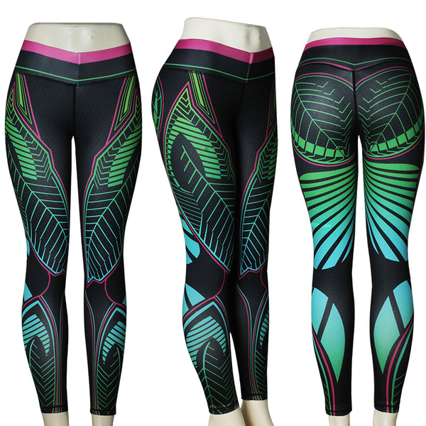 Women Yoga/Fitness/Gym wear  Leggings/tights - Free shipping