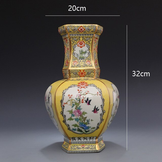 Qianlong's antique porcelain collection - Free shipping (17-27 days)