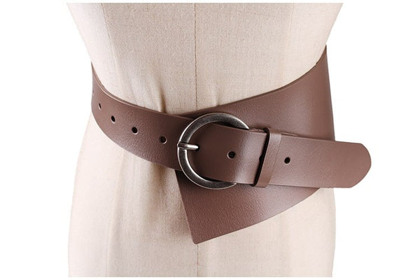 Women's Runway Fashion Genuine Leather Belt - Free shipping