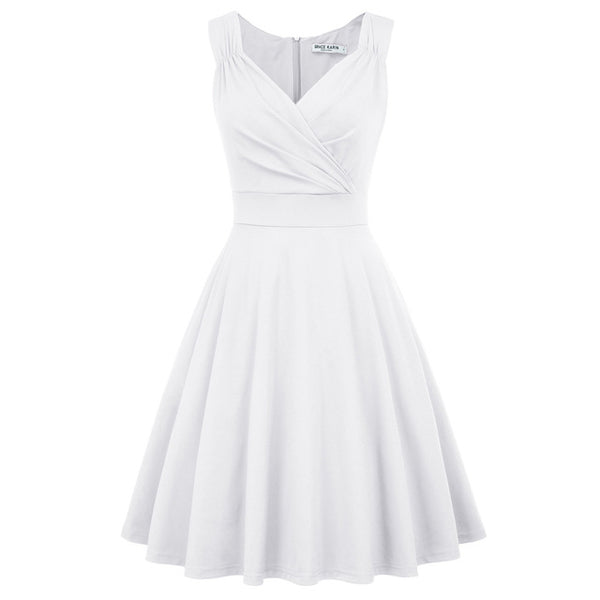 Grace Karin sleeveless V-neck Club Dress  - Free shipping