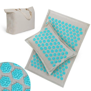 Acupressure Mat, Massage Mat and Pillow Set Yoga Mat - Free shipping