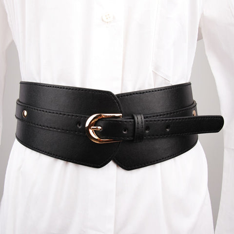 Decorative PU Waistband -  Free shipping