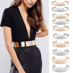 Adjustable Fashion Full Metal Waistband Chains Belt - Free shipping